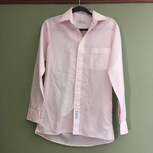 Vintage Pinstripe Pink Christian Dior blouse